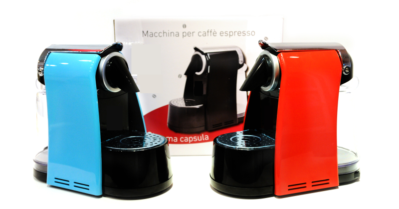 Box Packaging Espresso Coffee Machine And Milk Frother